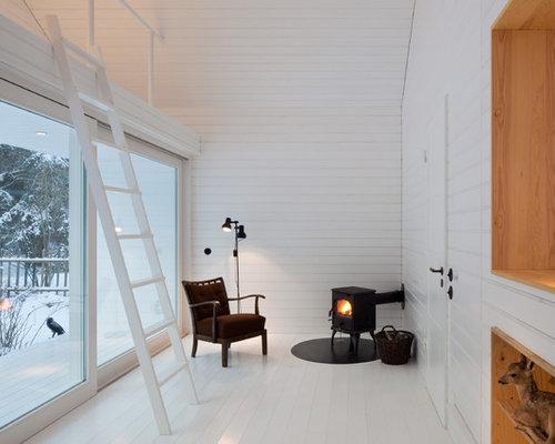 kleine wohnzimmer mit kaminofen - ideen, design, bilder & beispiele - Kleine Wohnzimmer Design