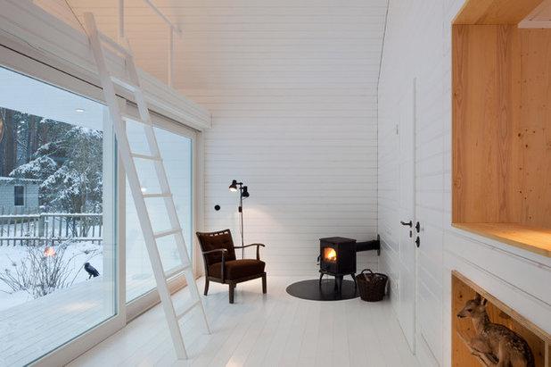 Minimalistisch Wohnbereich by Atelier ST