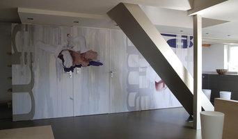 Wandgestaltung Wohnbereich