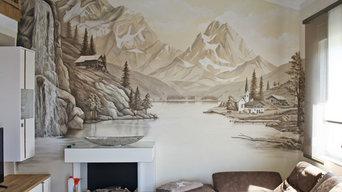 Wandmalerei Ferienwohnung