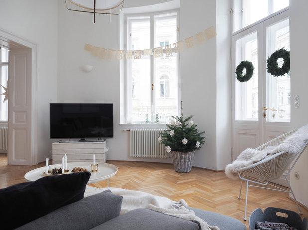 my houzz a vienna come svenja ha trasformato la casa a natale. Black Bedroom Furniture Sets. Home Design Ideas