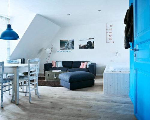 maritime wohnzimmer: design-ideen, bilder & beispiele | houzz, Wohnzimmer dekoo