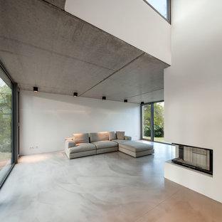 Salon moderne Hambourg : Photos et idées déco de salons