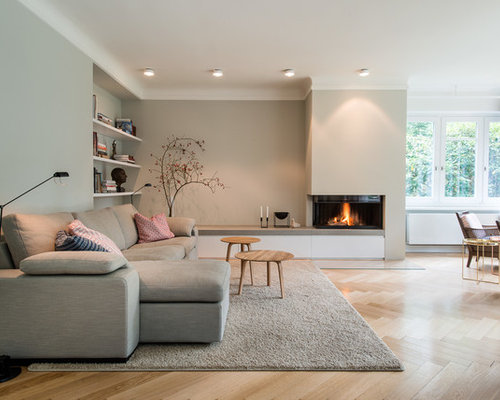 Living Room Design Ideas, Remodels & Photos with Light ...