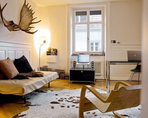abgetrennte industrial wohnzimmer - ideen & design | houzz