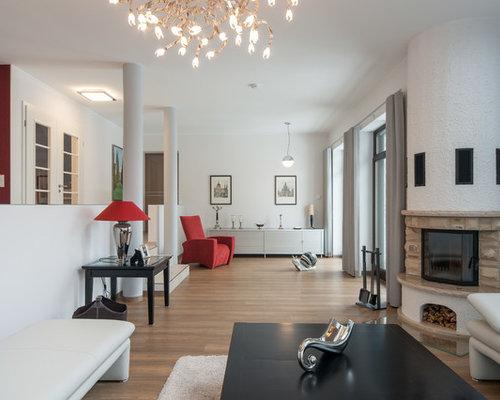 moderne wohnzimmer in dresden - ideen, design, bilder & beispiele, Wohnzimmer