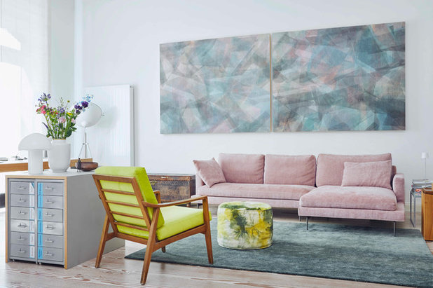 Modern Wohnzimmer by rooom.biz  Ihre Agentin für Schönheit
