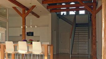 Wohnhauseinbau in bestehende Scheune