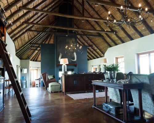 Kolonialstil wohnzimmer ideen design houzz for Kolonialstil wohnzimmer