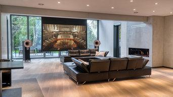 Wohnraum mit Heimkino & High-End