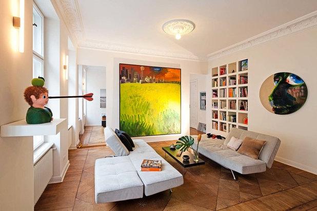Eklektisch Wohnzimmer by David Burghardt Photography
