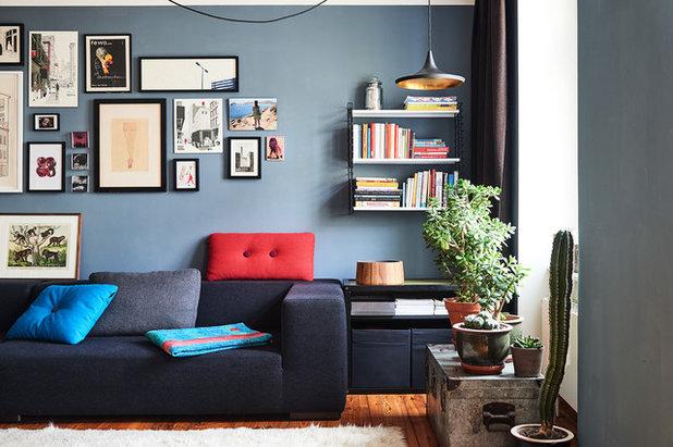 Modern Wohnzimmer by planen pro qm