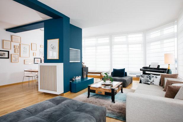 Modern Wohnbereich by Otto von Berlin