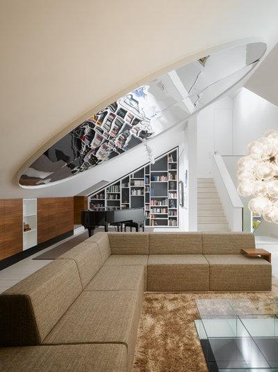 6 tipps wie sie wohnzimmer im dachgeschoss einrichten. Black Bedroom Furniture Sets. Home Design Ideas