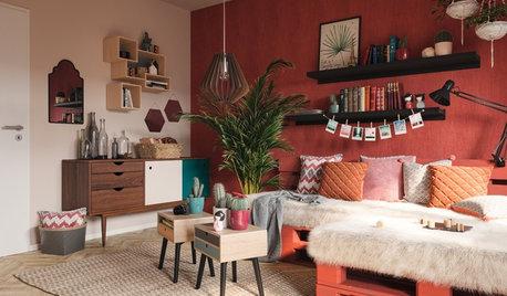 Ideen, Folklore-Elemente im Interieur zu kombinieren