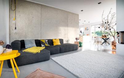 5 stimmungsvolle Kontraste zu glattem Beton