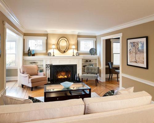 Wohnzimmer design wandfarbe  Klassische Wohnzimmer - Ideen, Design, Bilder & Beispiele