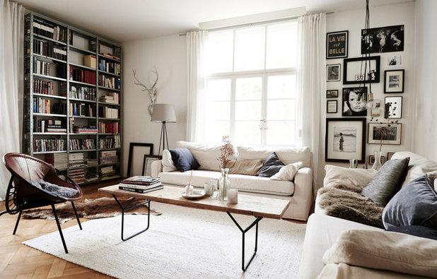 Skandinavisch Wohnbereich by StageItUp
