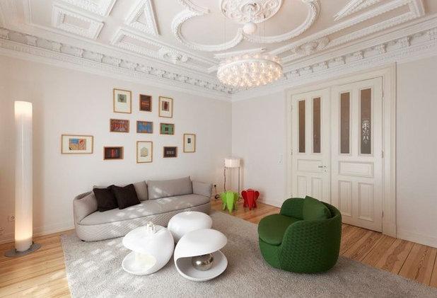 Modern Wohnzimmer By Weinkath GmbH