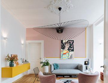 Wohnzimmergestaltung Vintage