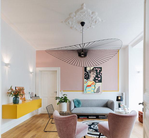 Eklektisch Wohnzimmer by Nicoladenseiten