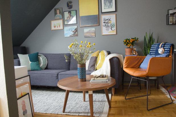 Contemporary Living Room By La Petite Olga Part 26