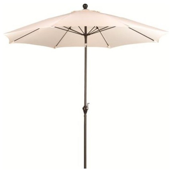 March Products Alus908117-P10 Wind Resistance Umbrella, Bronze, 9&x27;.