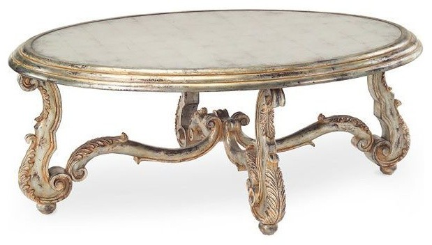 John Richard Arezzo Cocktail Table Traditional Coffee Tables