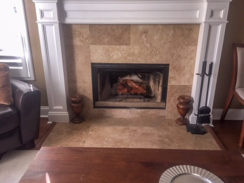Wonderful Mexican Tile Fireplace Surround Options Dl48