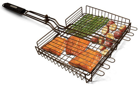 Simply Grilling Non-Stick Grilling Basket.