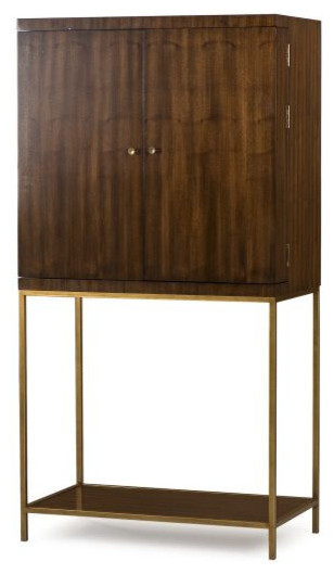 Langston, Bar Cabinet - Wine And Bar Cabinets - by Intrustic Home ...
