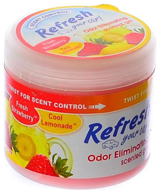 Office air freshener Godrej Aer Twist Refresh Scented Gel Car Home Office Air Freshener 45 Oz Strawberrylemonade Contemporary Home Fragrances By Goso Direct Refresh Scented Gel Car Home Office Air Freshener 45 Oz
