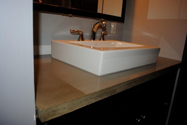 Vanity Side Splash : Bathroom vanities modern vanity tops and side splashes