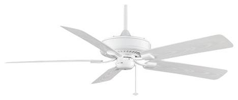 Edgewood Deluxe 60 Ceiling Fan, White/white Blade.