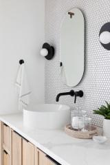 24 Ideas for Textured Bathroom Wall Tiles