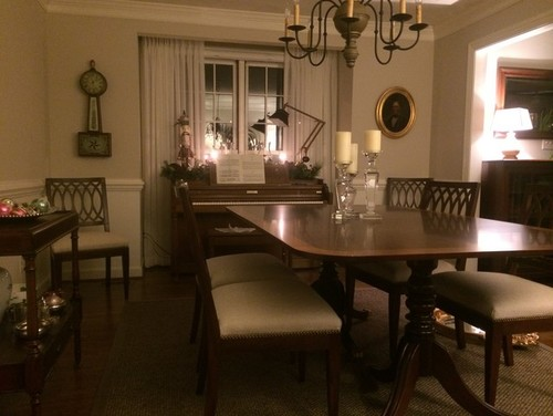 Would the piano fit in your dining room window Ack  Where do I put a piano . Piano Dining Room Table. Home Design Ideas
