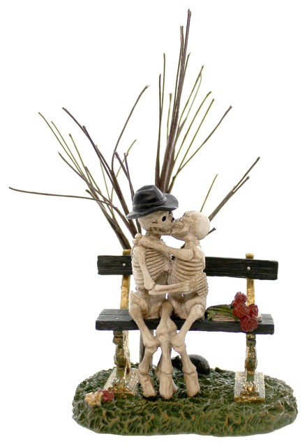 Department 56 Accessory Kiss Of Death Polyresin Halloween Skeletons 4047592.