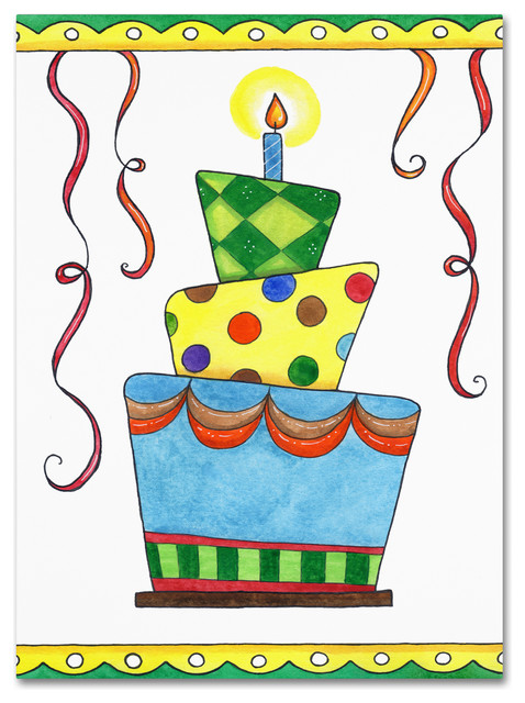 Birthday Cake Modern Art : Birthday Cake Modern Art ~ Image Inspiration of Cake and ...