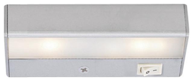 """WAC Lighting LEDme 8"""" 120V Light Bar 3000K Soft White in Satin Nickel"""