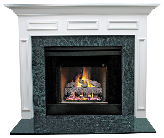 "Model: SYE-36LTCH2MDF-PRIME. Primed Mantel. Simple elegance and understated styling. For home use. Ready to install. Dimensions: 47"" (W) x 42"" (H) x 5.5"" (L) x"