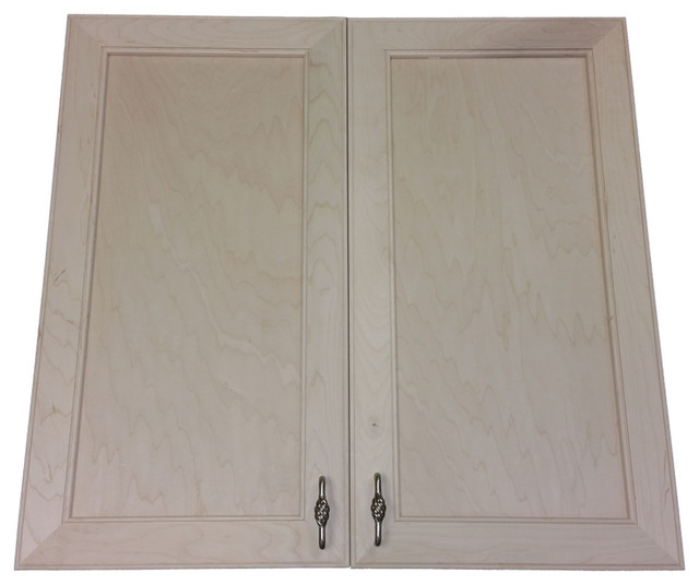 """Village Bch On The Wall Double Door Frameless Medicine Cabinet, 5.5""""x19.5""""."""