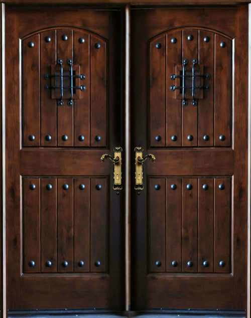 Us Door Amp Window Knotty Alder Exterior Front Entry Double