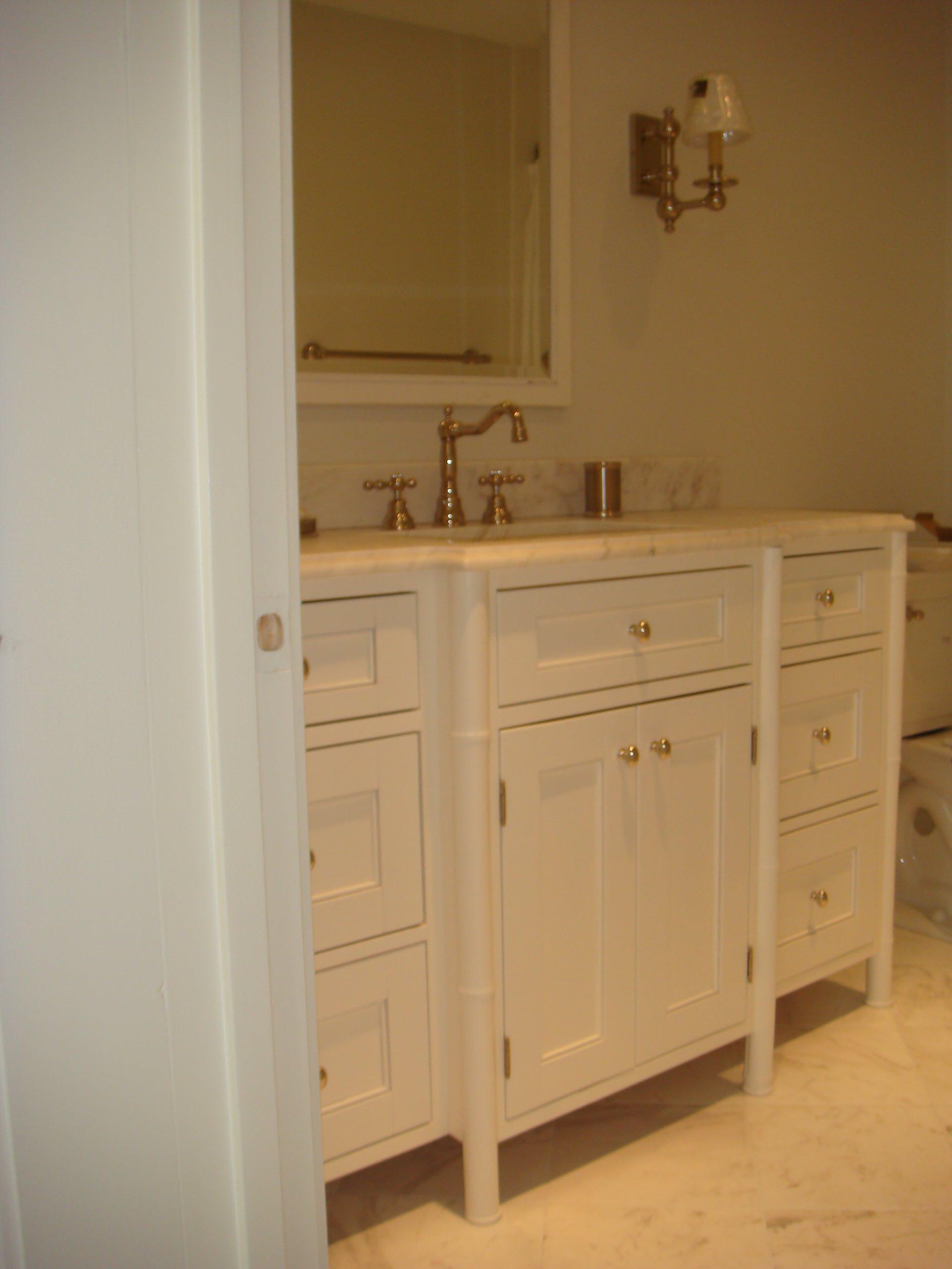 Bamboo Bathroom Vanity Houzz