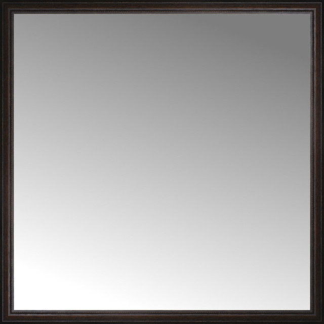 "Bathroom Mirrors 60 X 30 60"" x 60"" custom framed mirror - traditional - floor mirrors -"