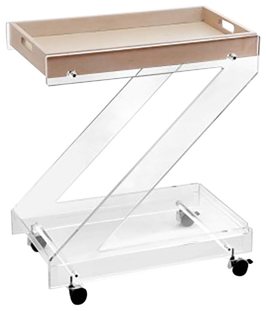 Zeta Glass Trolley
