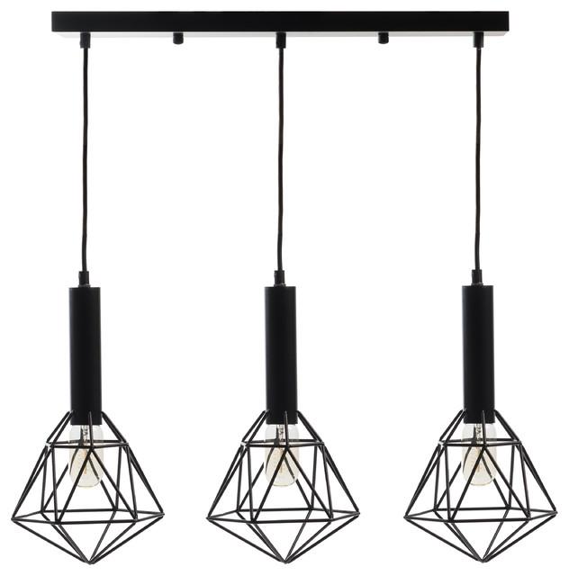 Cascade Geometric Pendant Lamp.