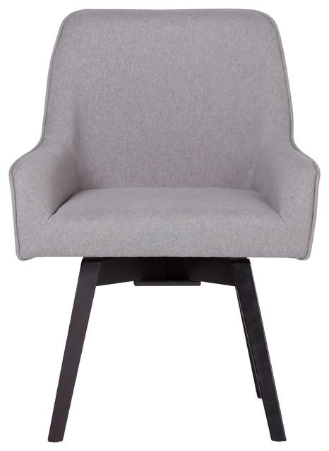 Evander Swivel Office Chair, Gray