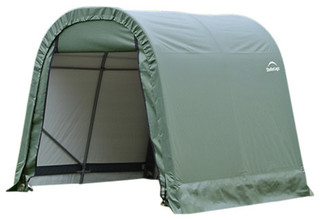 8'x8'x8' Round Style Shelter, Green