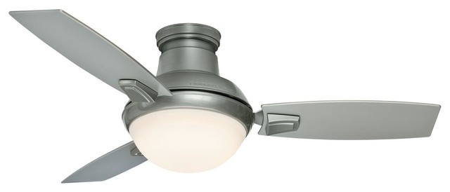 Casablanca Verse Ceiling Fan Brushed Nickel 44