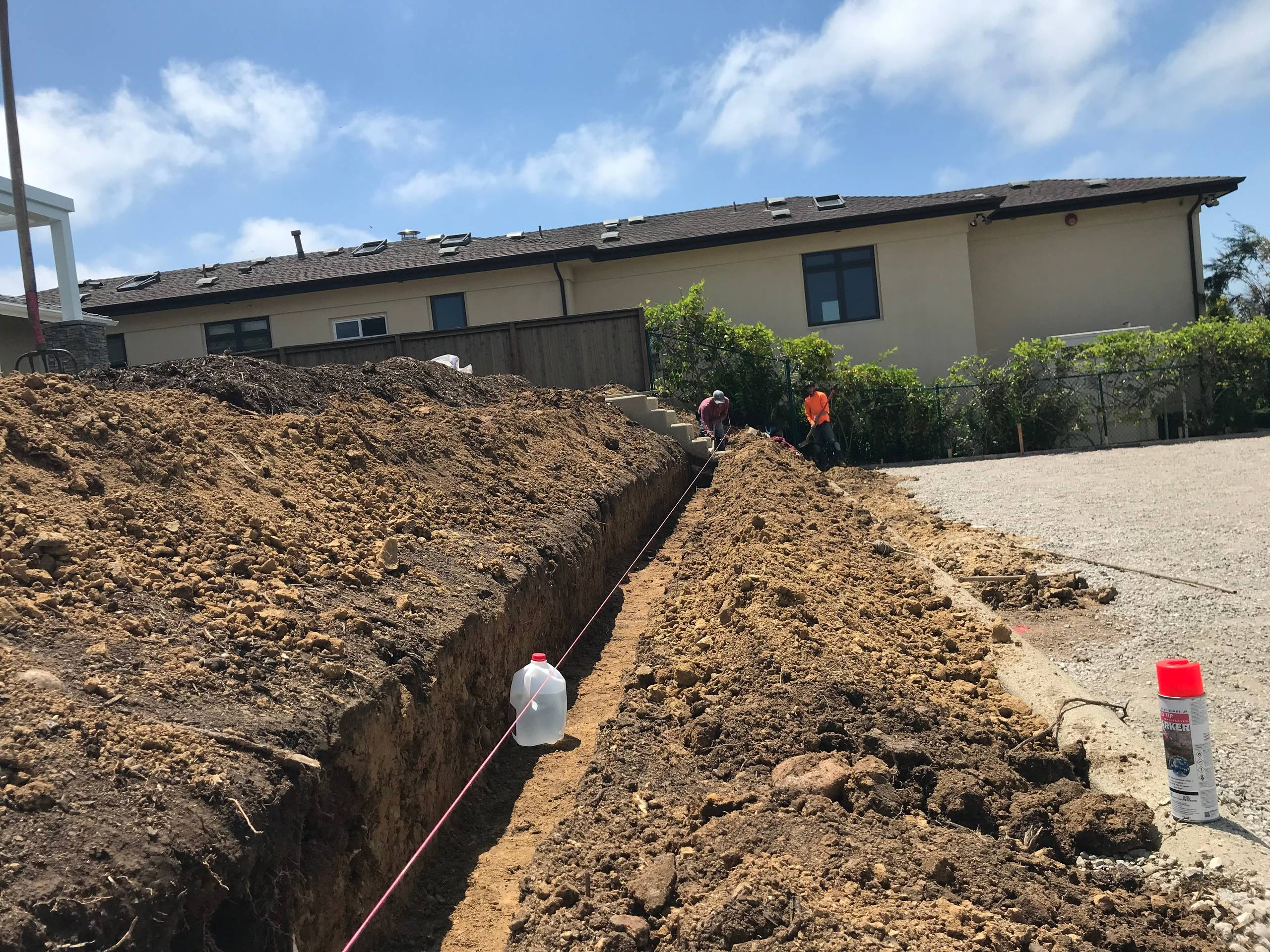 Footing For New Retaining Wall on Slope